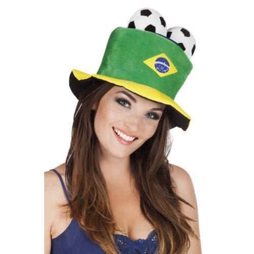 Hoed Brazilië met Ballen