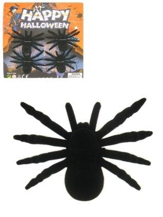 Zwarte Spinnen op Kaart 4stuks