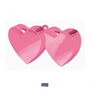 Ballon gewicht 2 Harten Licht Roze
