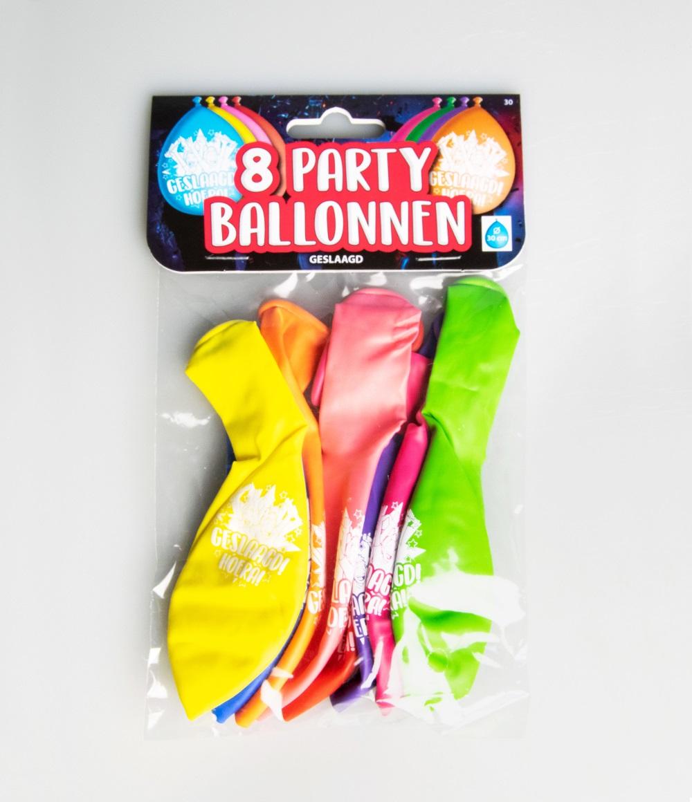 """8st Ballonnen Geslaagd! Hoera! 12"""""""