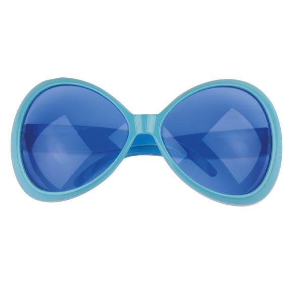 Bril Disco Blauw