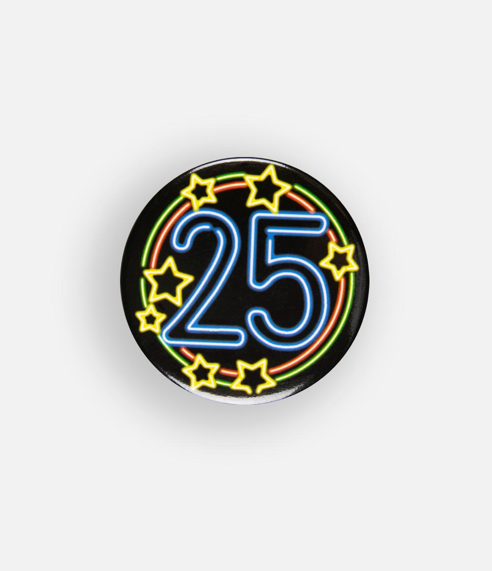 Button Neon 25 5.5cm