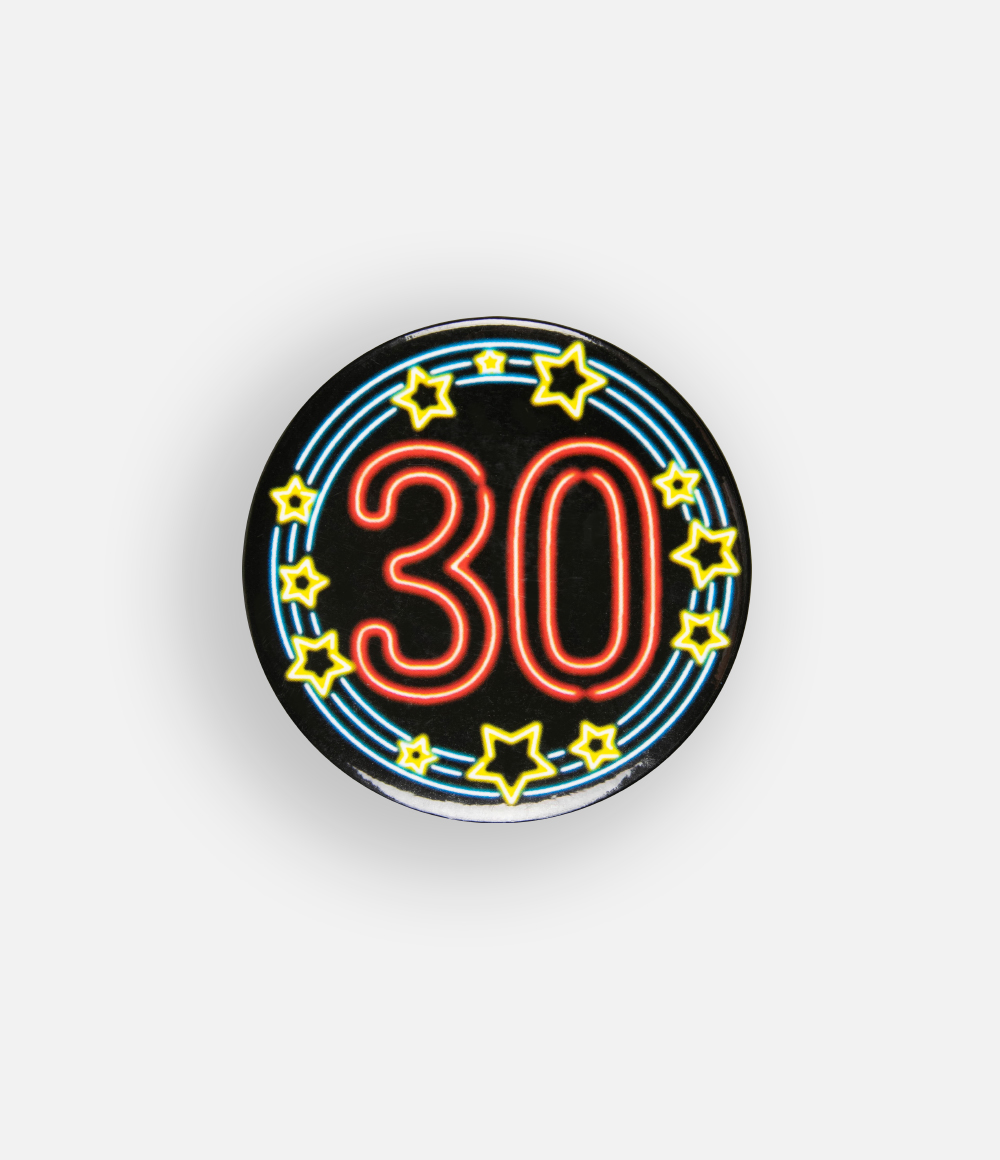 Button Neon 30 5.5cm