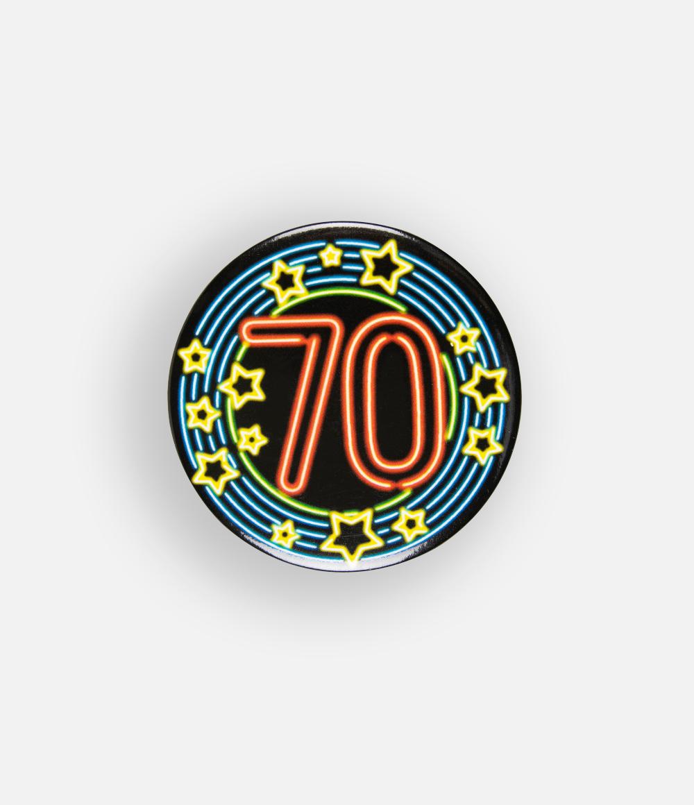 Button Neon 70 5.5cm