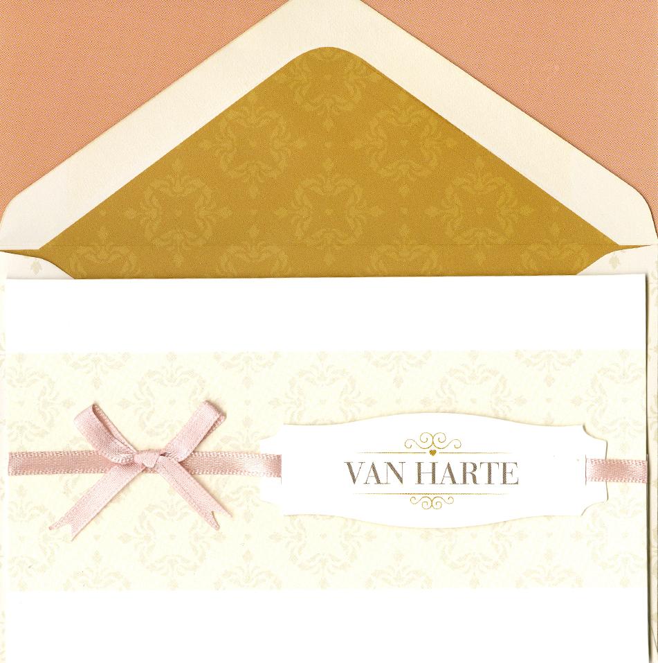 Card&Gift Wenskaart Van Harte