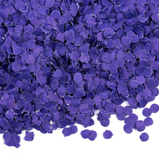 Confetti Paars 100gram 1cm