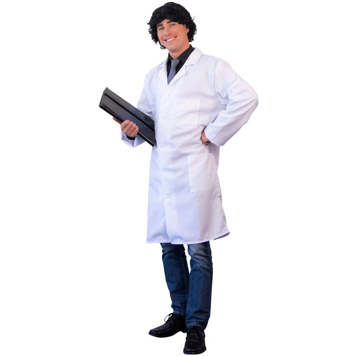 Doktersjas Wit Luxe Volwassen
