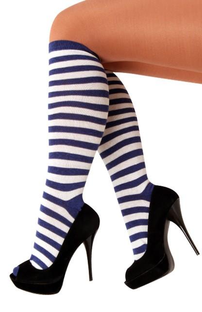 Dorus Kousen Blauw/Wit One Size