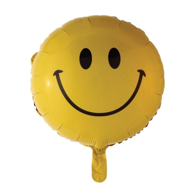 Folieballon Smiley Lachend 46cm