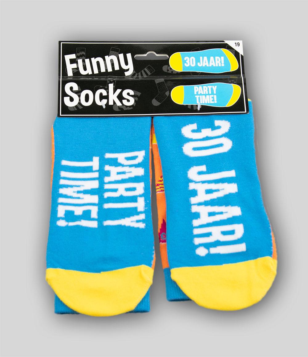 Funny Socks 30 jaar