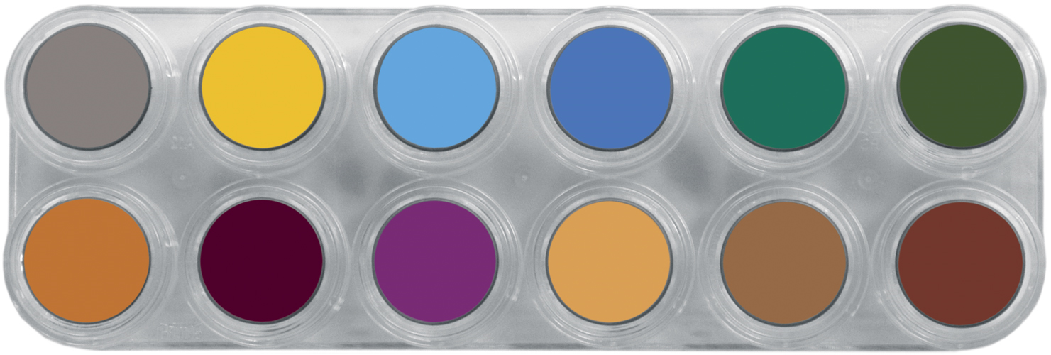 Grimas Water Make-up 12kl Palet B