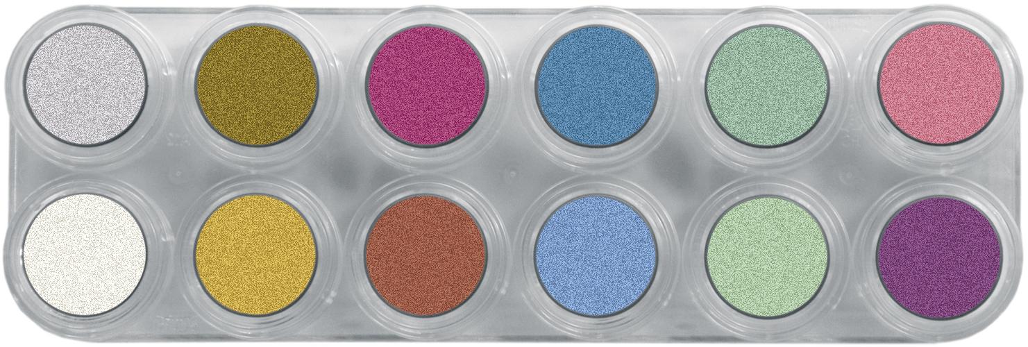 Grimas Water Make-up 12kl Palet Pearl