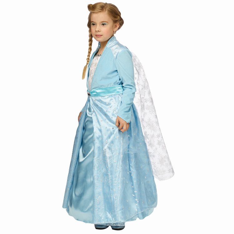 Jurkje Ijsprinses Blauw Kind