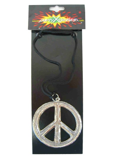 Ketting Zilver Peace
