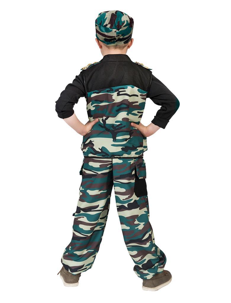 Kostuum Combat Trooper Jongen