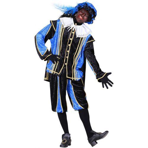 Kostuum Piet Bilbao Blauw/Zwart