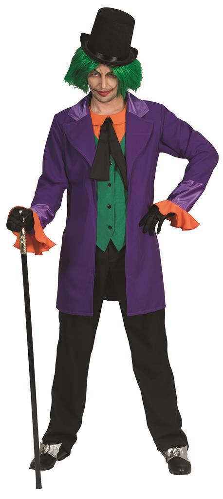 Kostuum The Joker Paars Heren