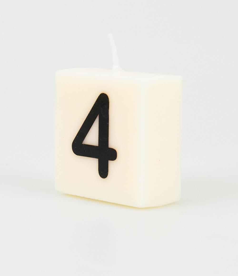 Letterkaarsje Cijfer-4