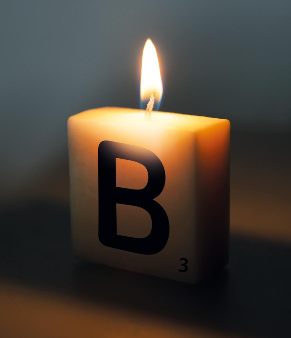 Letterkaarsje Letter-B