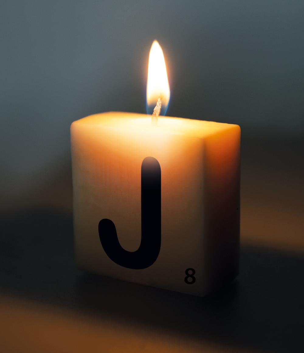 Letterkaarsje Letter-J