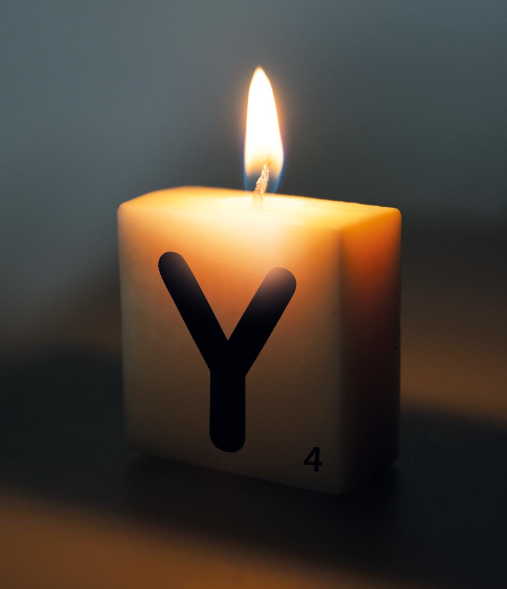 Letterkaarsje Letter-Y