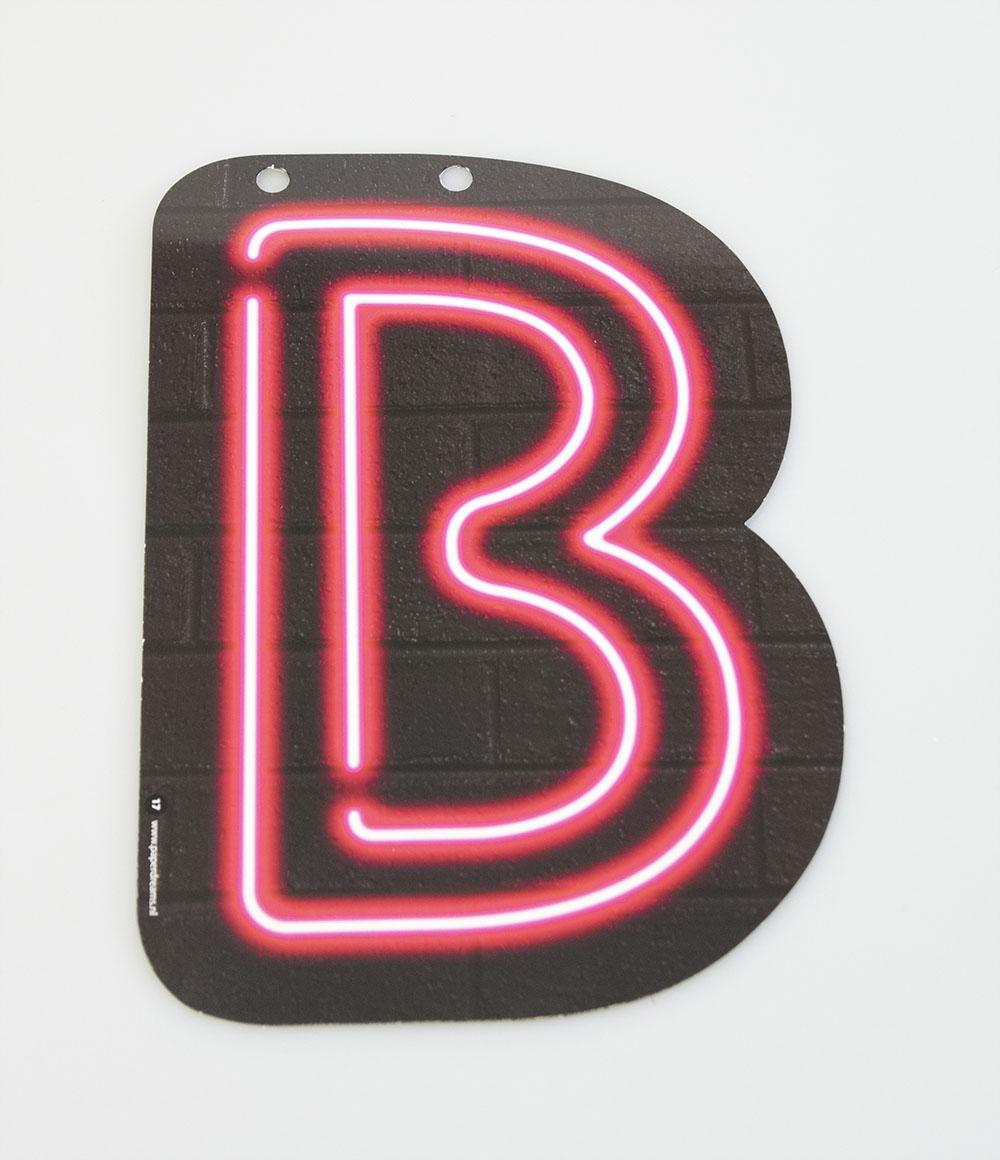 Letterslinger Letter-B Neon