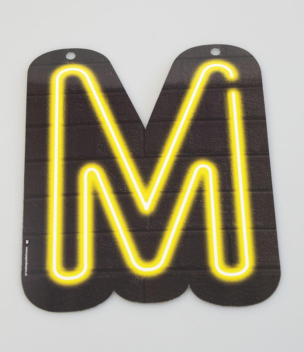 Letterslinger Letter-M Neon