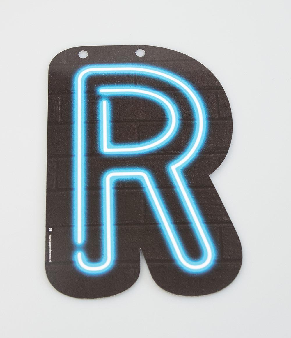 Letterslinger Letter-R Neon