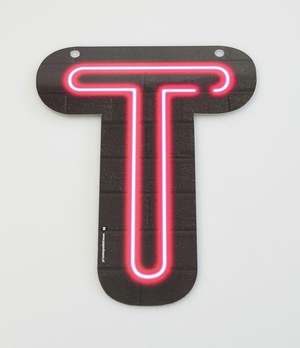 Letterslinger Letter-T Neon