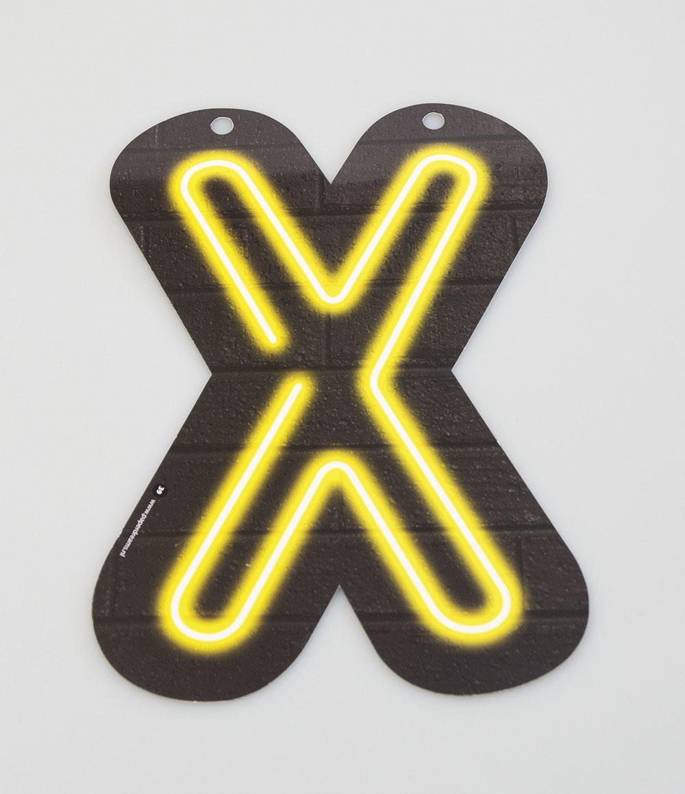 Letterslinger Letter-X Neon