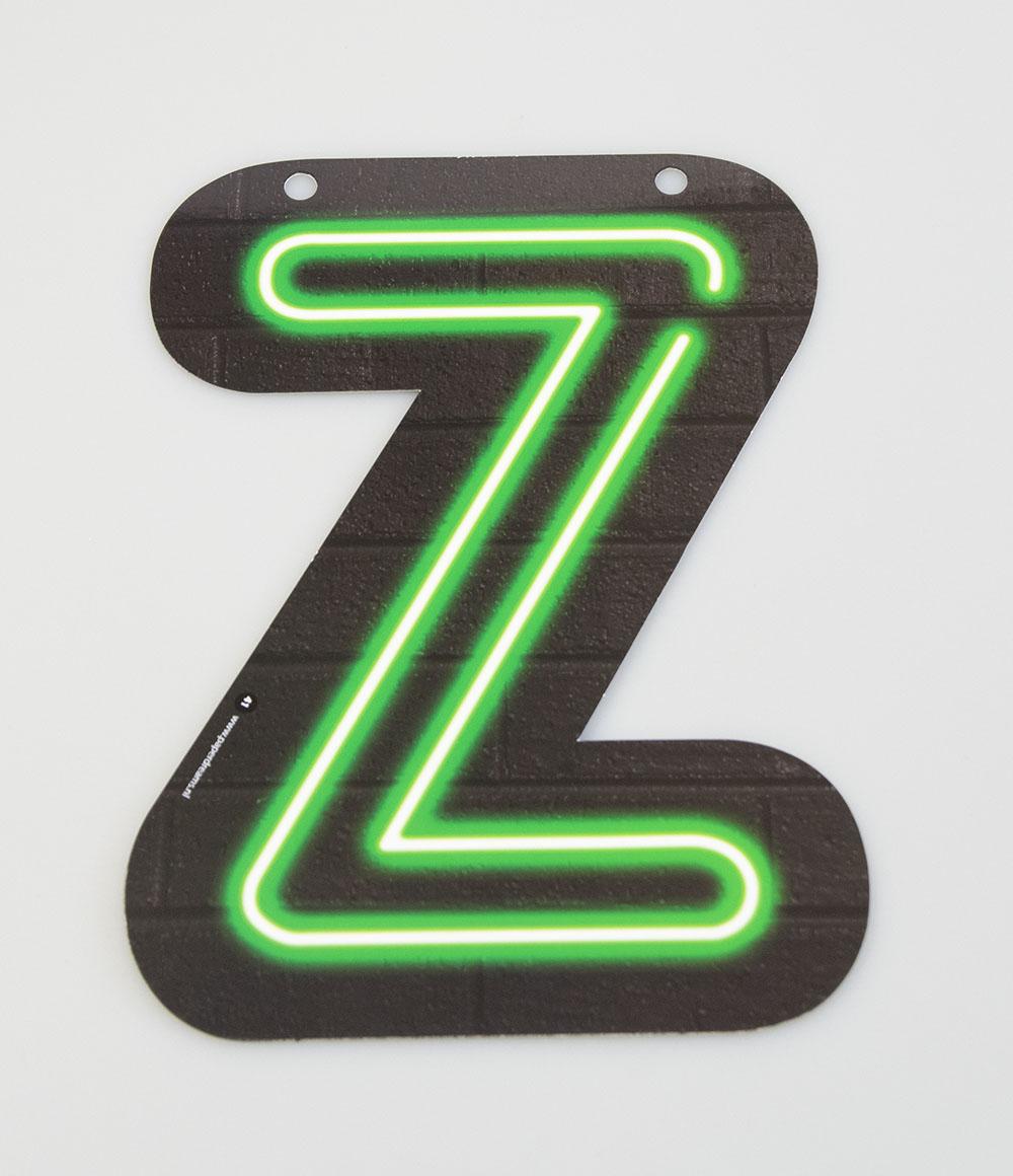 Letterslinger Letter-Z Neon