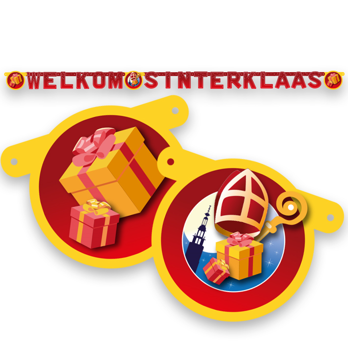 Letterslinger Welkom Sinterklaas