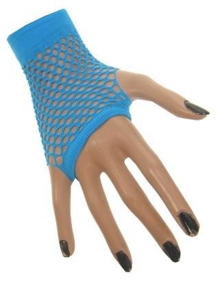 Nethandschoenen Kort Blauw