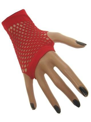 Nethandschoenen Kort Rood