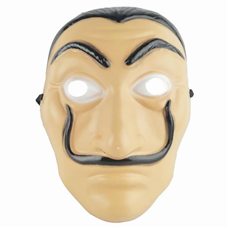 Plastic Masker Salvador La Casa de Papel