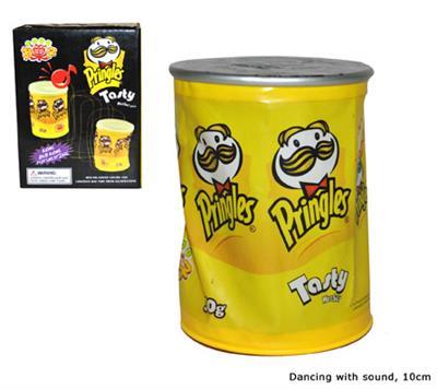 Pringles Doos met Geluid en Beweging