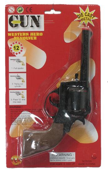 Revolver 12-Schots Zwart