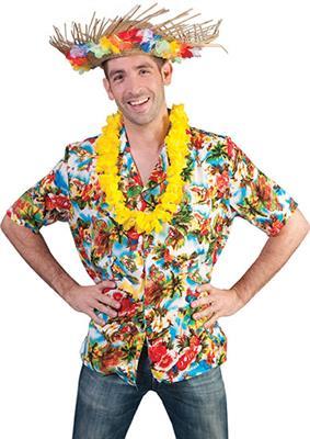 Shirt Hawai Multicolor Volwassen