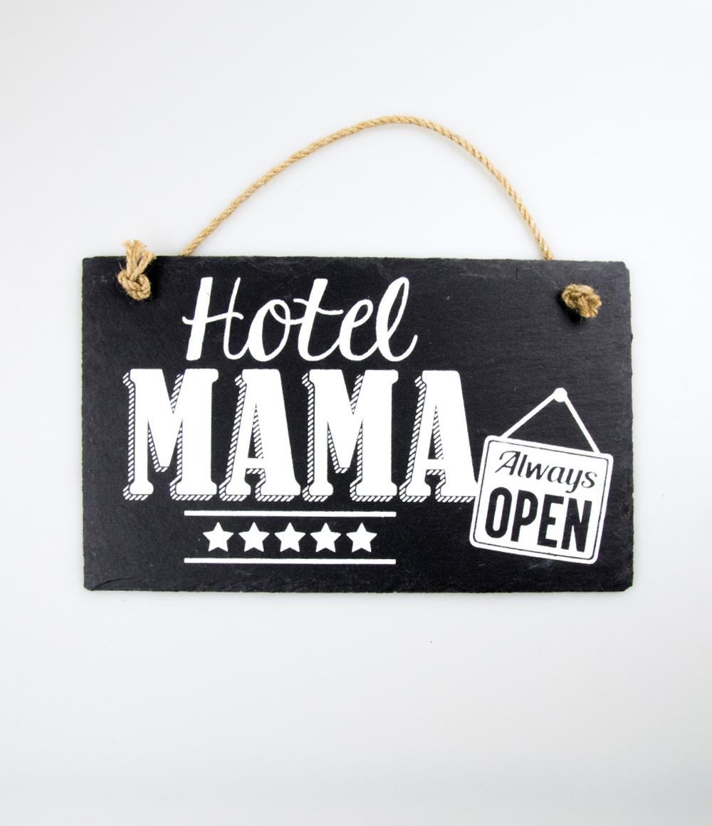 Stone Slogan Mama