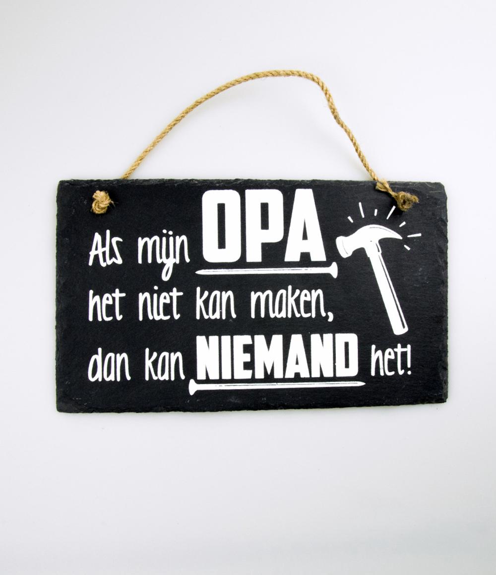 Stone Slogan Opa