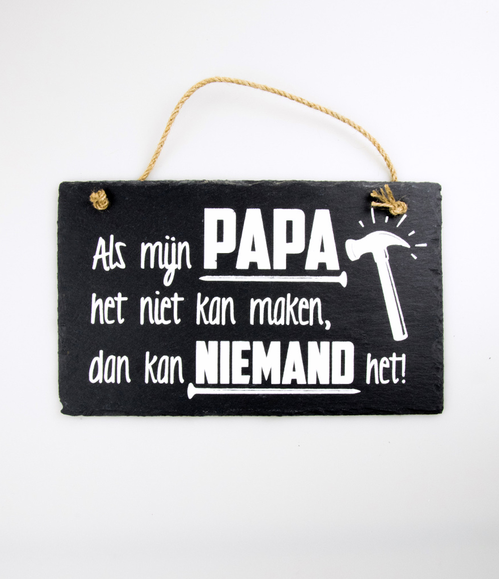 Stone Slogan Papa