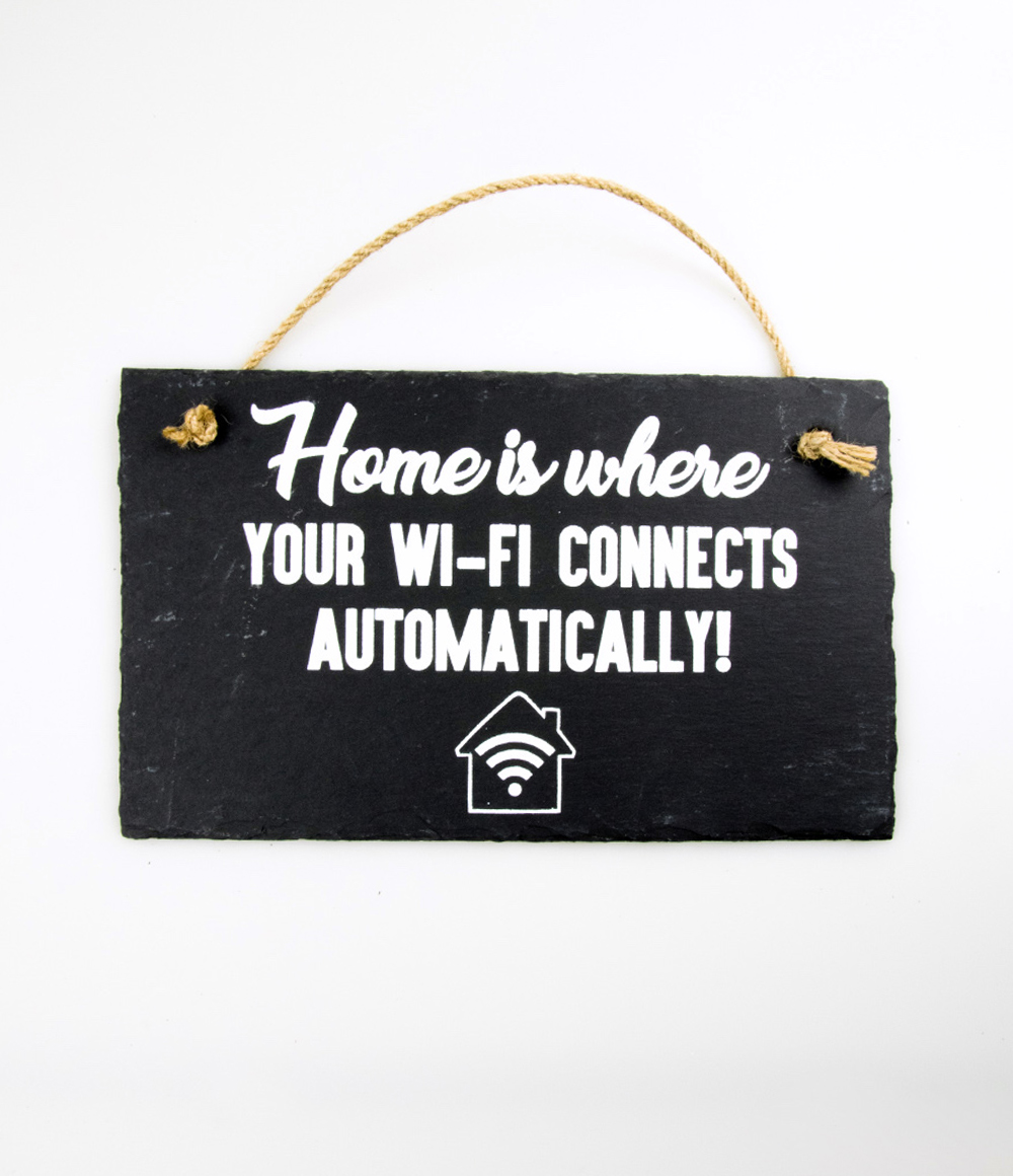 Stone Slogan Wi-Fi