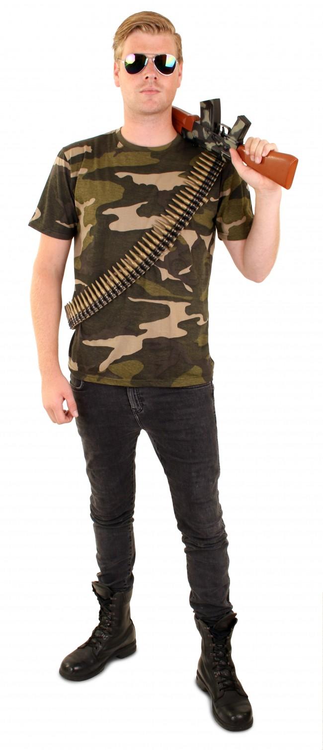 T-Shirt Leger/Camouflage Volwassen Unisex
