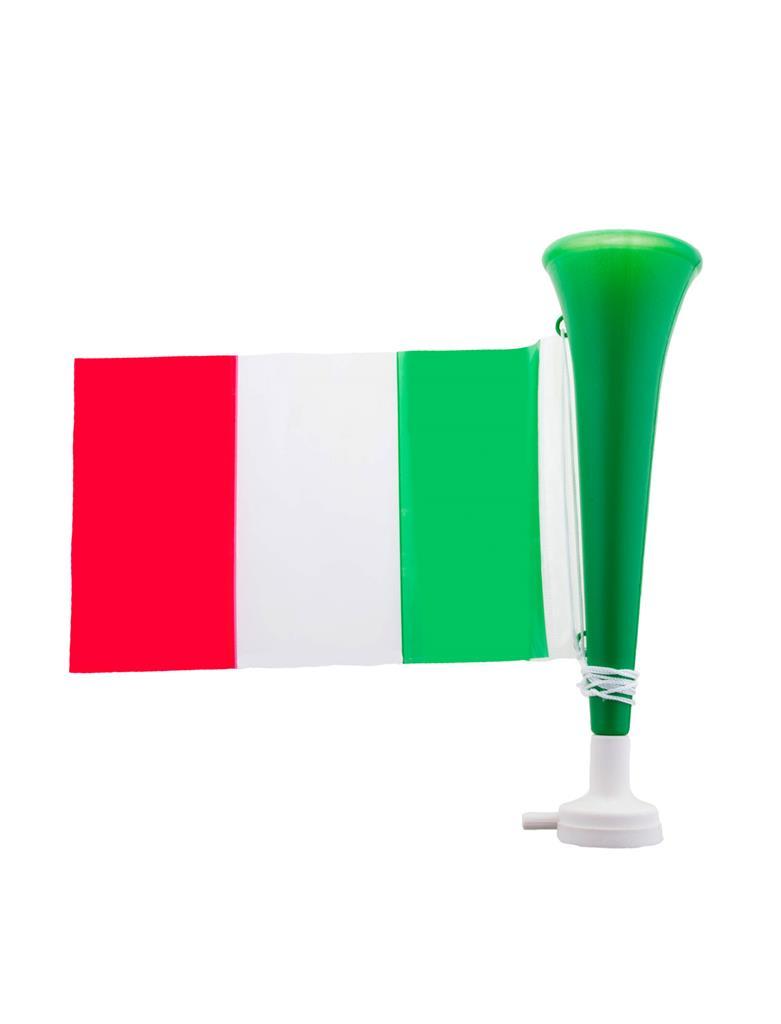 Toeter Italië met Vlaggetje