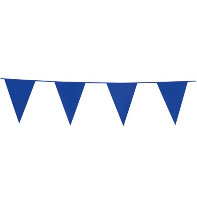 10m Vlaggenlijn Uni Blauw