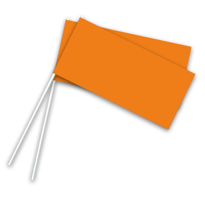 Vlaggetje Papier Oranje