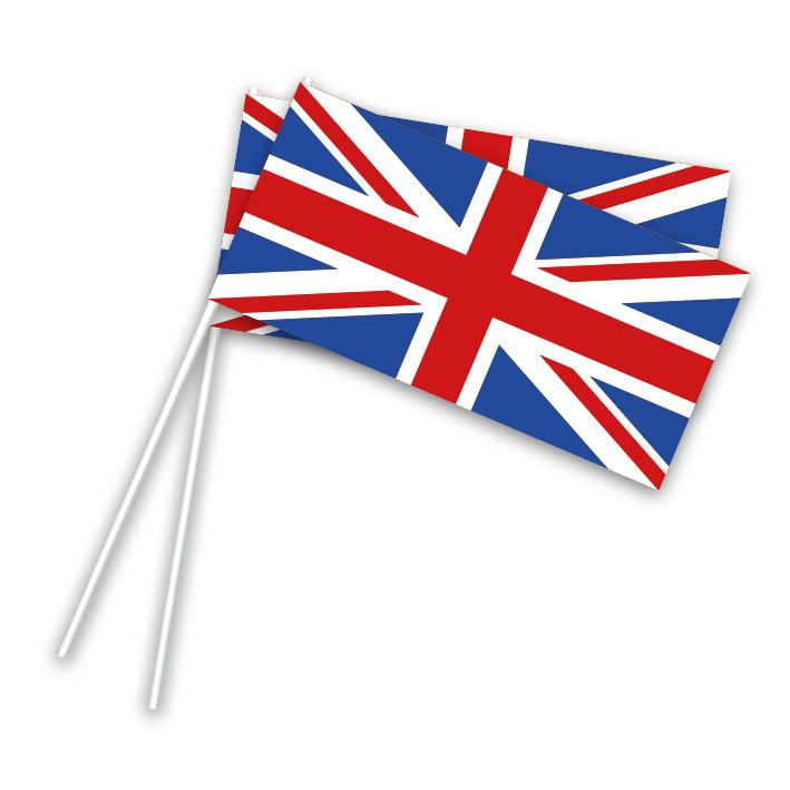 Vlaggetje Papier Engeland