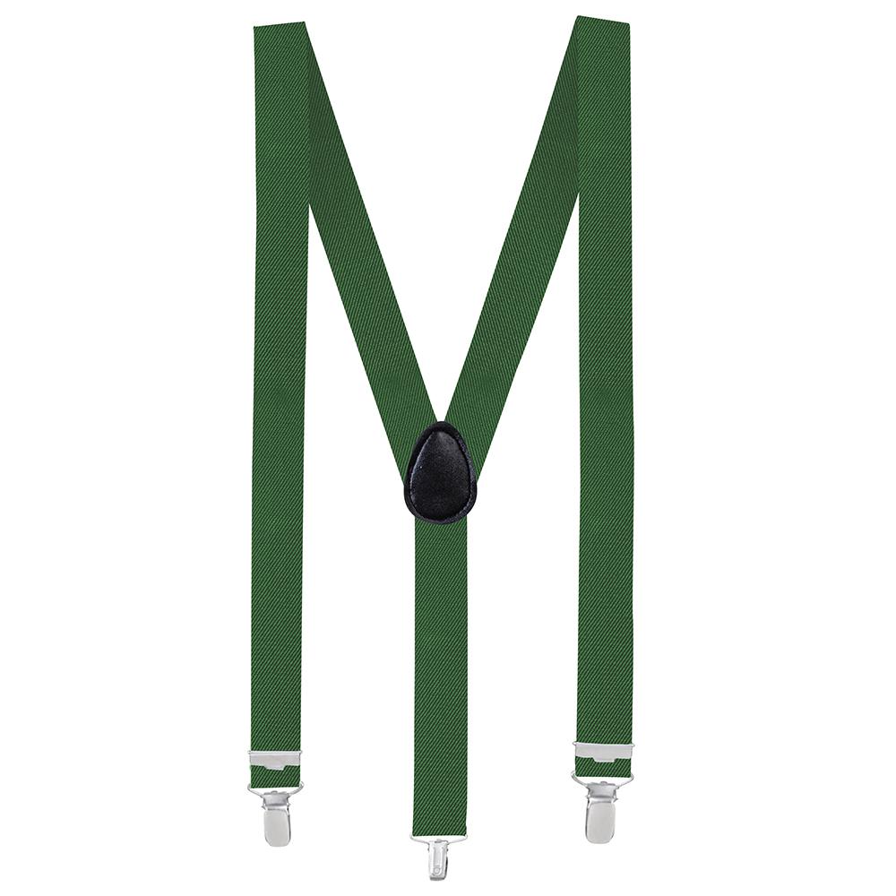 Bretels Donker Groen Basic Verstelbaar 35mm