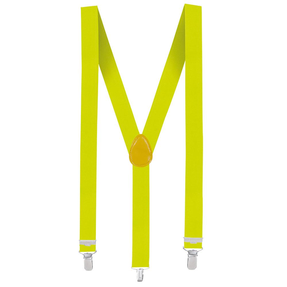 Bretels Neon Geel Basic Verstelbaar 35mm
