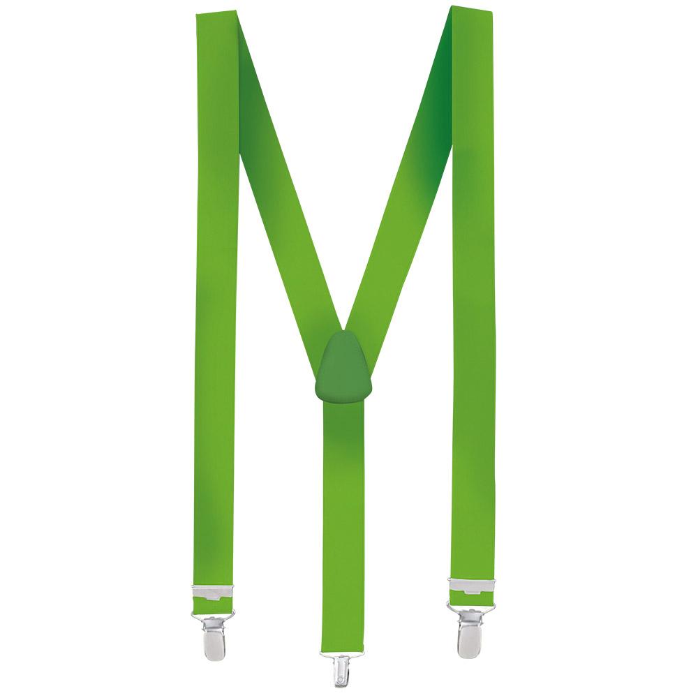 Bretels Neon Groen Basic Verstelbaar 35mm
